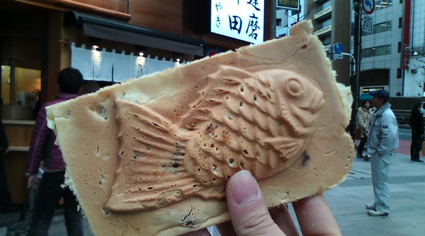 四角い鯛焼き(<br />  ゜Д゜)